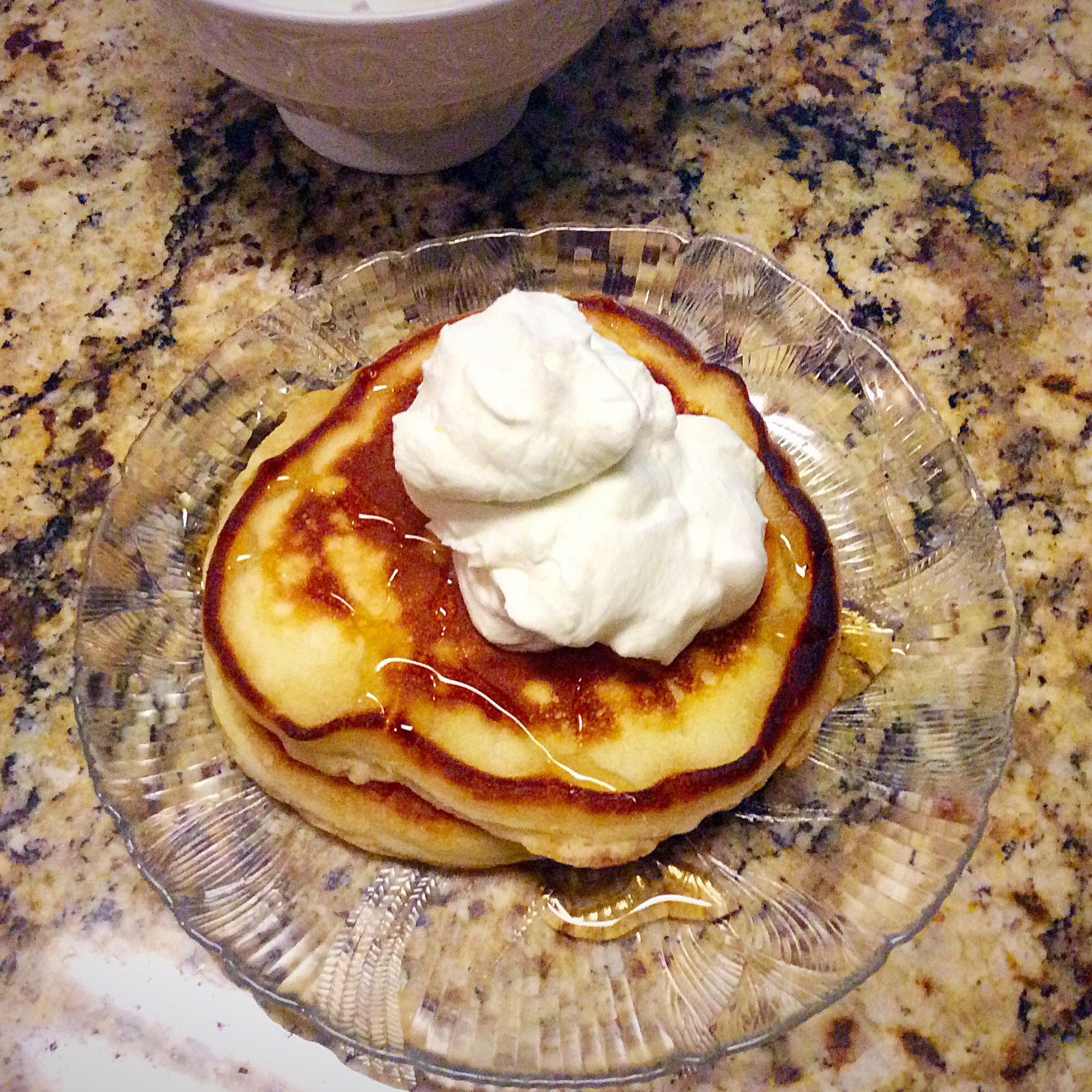 Fluffy pancakes with whipped cream yield 4 pancakes prep time 10 minutes ccuart Choice Image